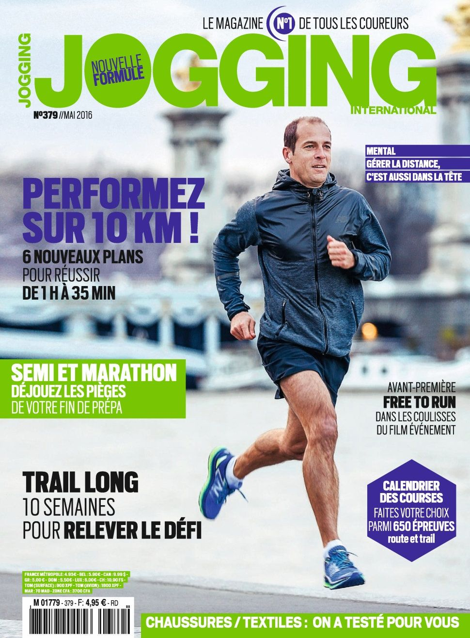 Jogging International 379 - Mai 2016