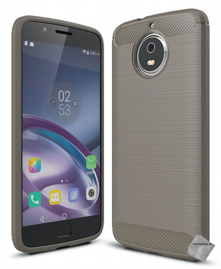 Housse-etui-coque-silicone-gel-carbone-pour-Motorola-Moto-G5s-verre-trempe