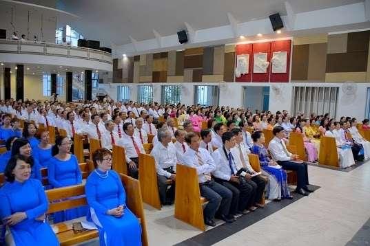 Lễ thánh Giuse Nguyễn Văn Lựu Bổn Mạng của Liên HĐMVGX hat Phú Thọ
