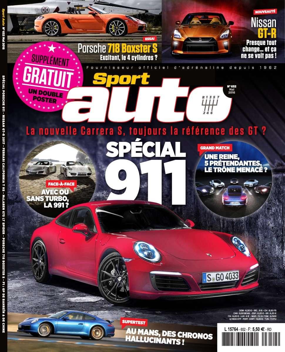 Sport Auto 652 - Mai 2016