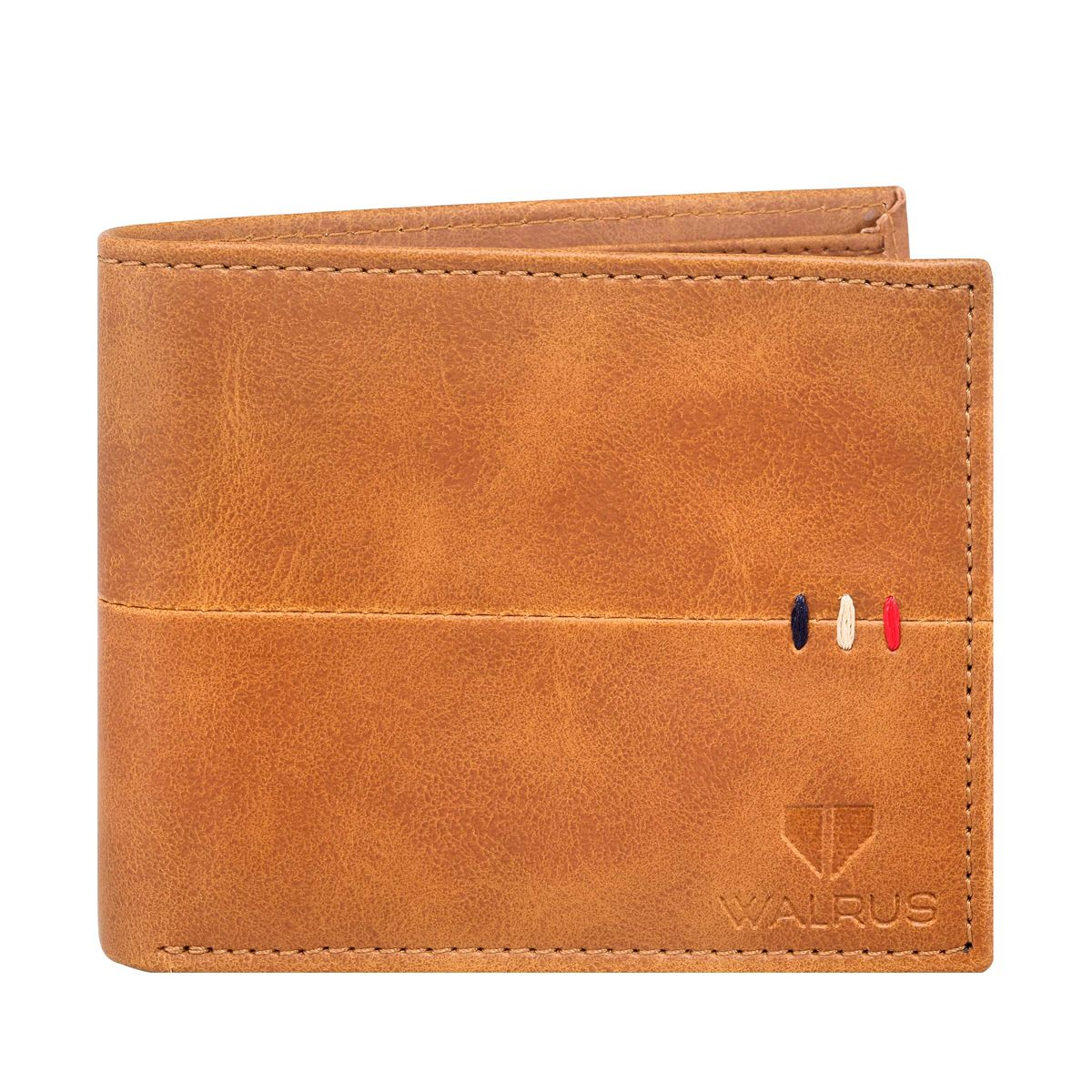Walrus Daniel Tan Color Men Leather Wallet- WW-DNL-16