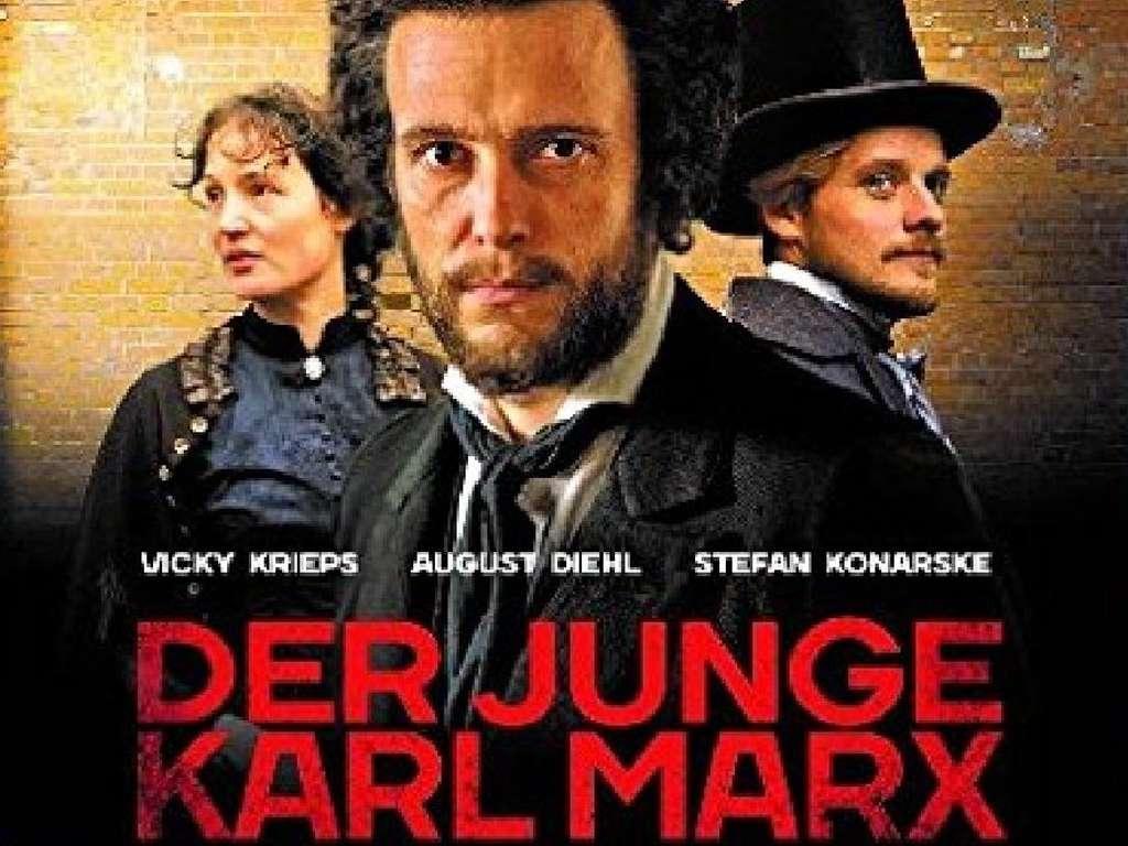 Όταν ο Μαρξ συνάντησε τον Ένγκελς (Der Junge Karl Marx) Quad Poster Πόστερ
