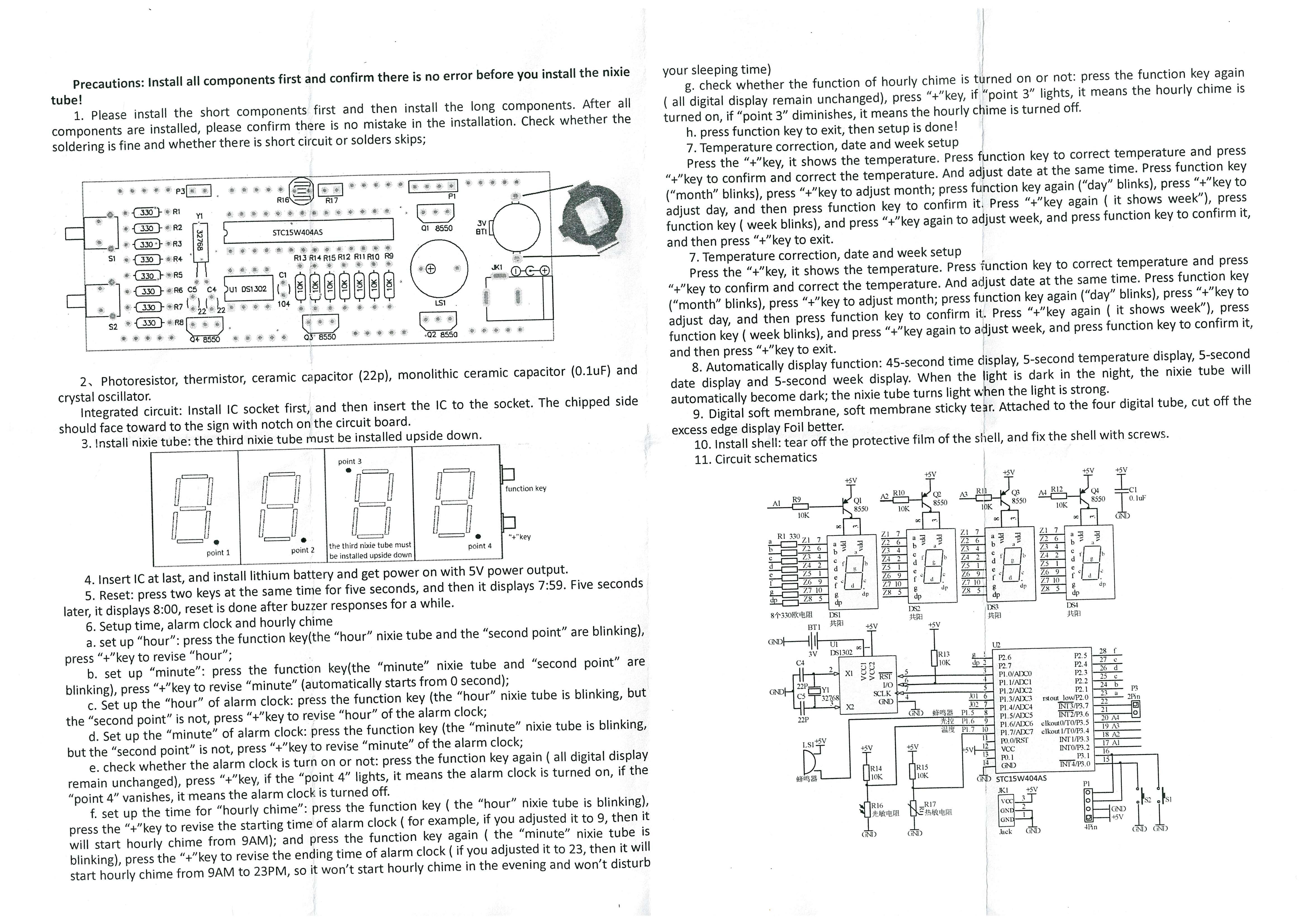 diy led uhr mit distanz sensor elektroforum. Black Bedroom Furniture Sets. Home Design Ideas
