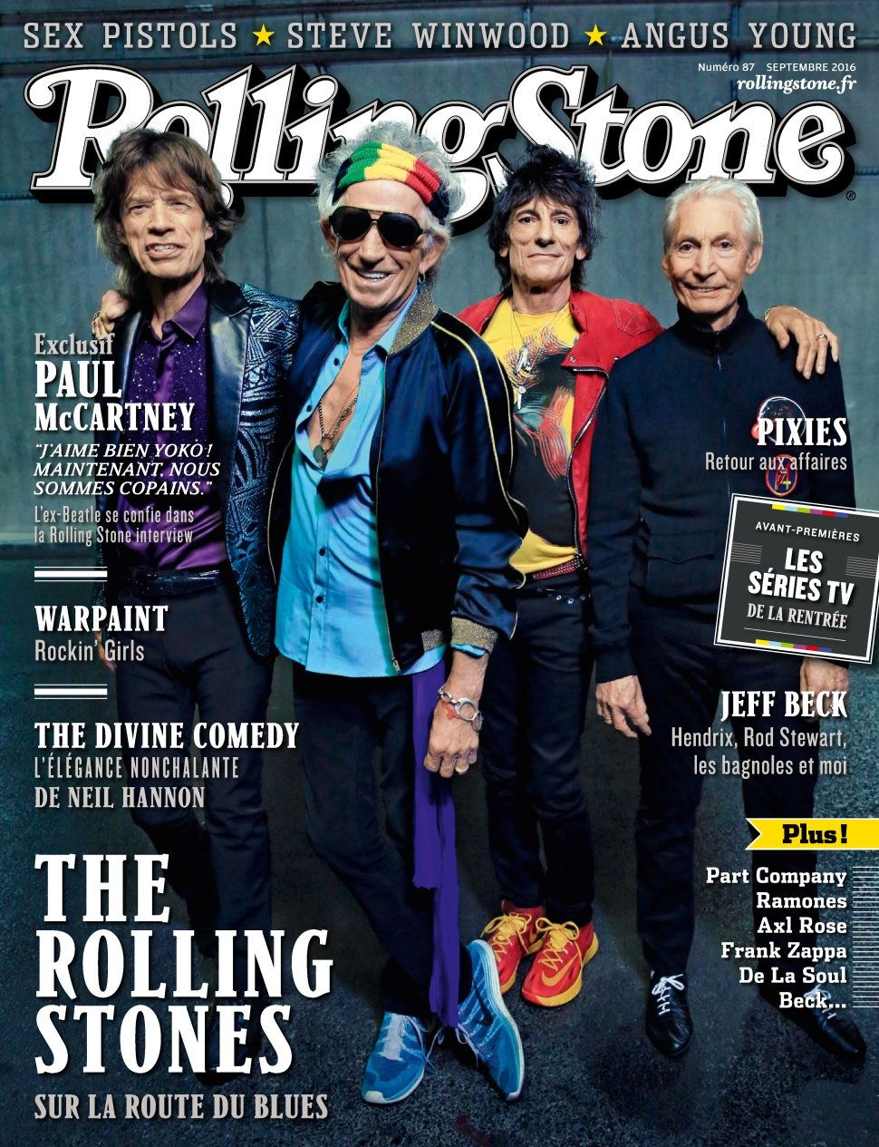 Rolling Stone 87 - Septembre 2016