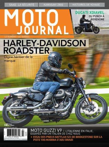 Moto Journal Québec - Juillet 2016