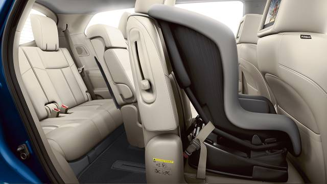 2017 Nissan Pathfinder Ez Flex Seating System With Latch And Glide Technology