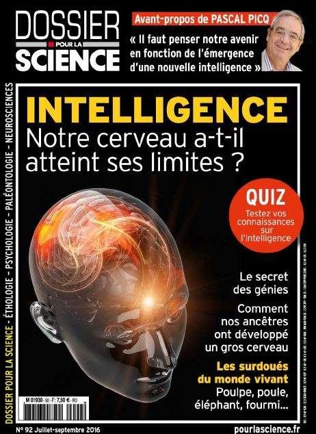 Dossier Pour La Science 92 - Juillet-Aout-Septembre 2016