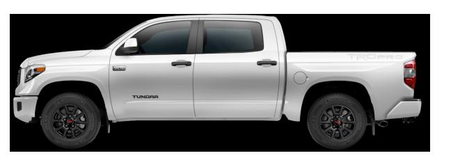 White Toyota Tundra