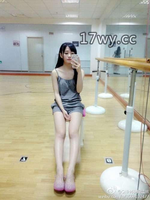 日本媒体所谓4000年来大陆第一美女snh48成员鞠婧祎图包