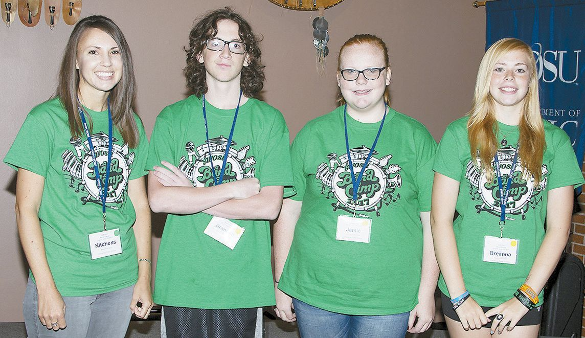 Local Students Attend SWOSU Band Camp