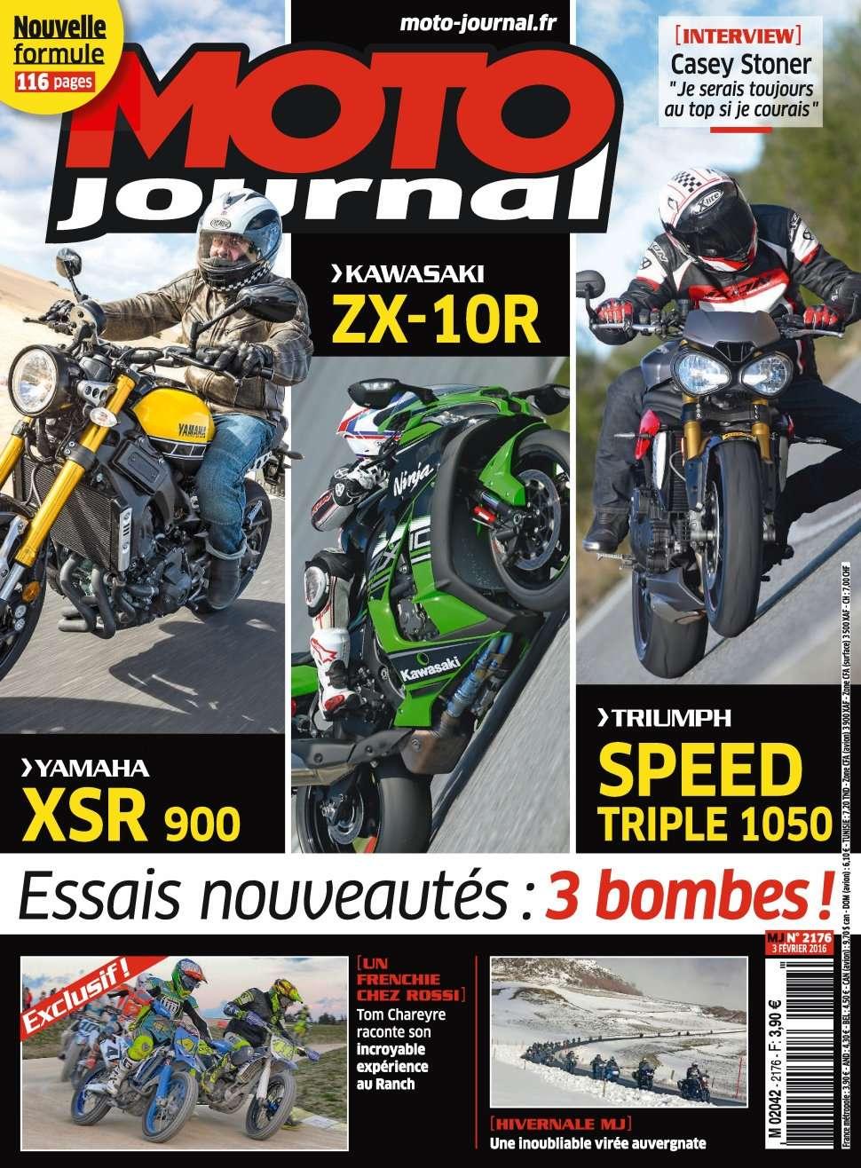 Moto Journal 2176 - 03 Février 2016