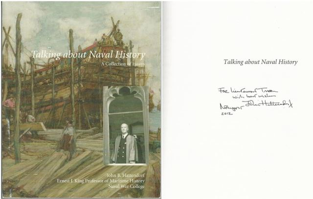 Talking About Naval History: A Collection Of Essays