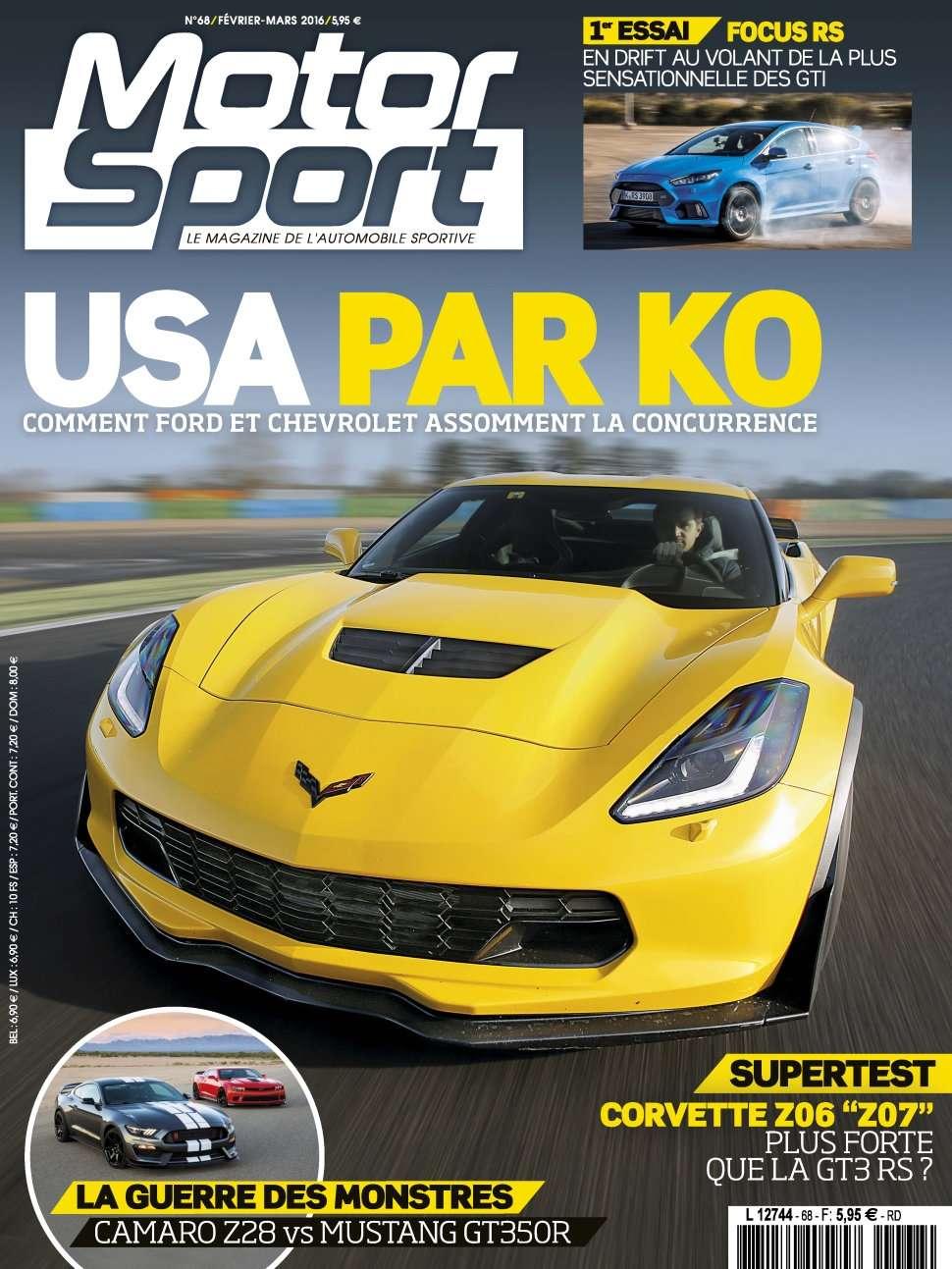 Motorsport 68 - Fevrier/Mars 2016