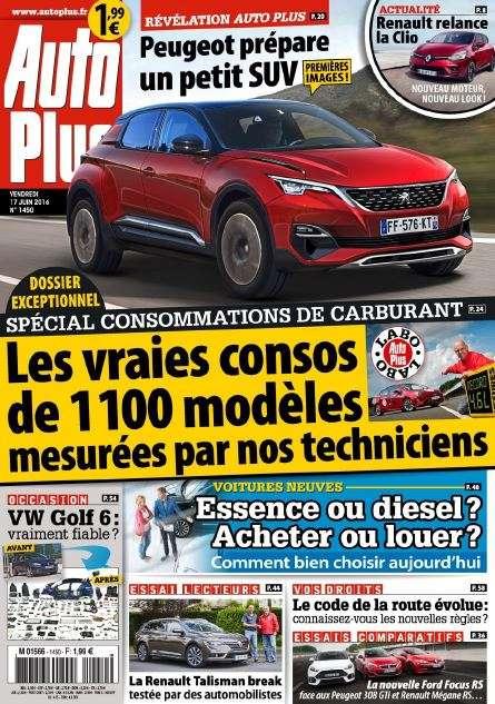 Auto Plus 1450 - 17 au 23 Juin 2016