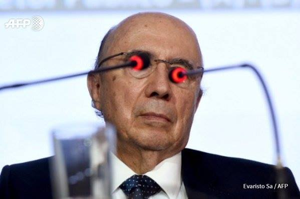 Henrique Meirelles with CURVED lasers!