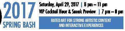 Saturday April 29, 2017 | 2017 Spring Bash at Arlington Arts Center