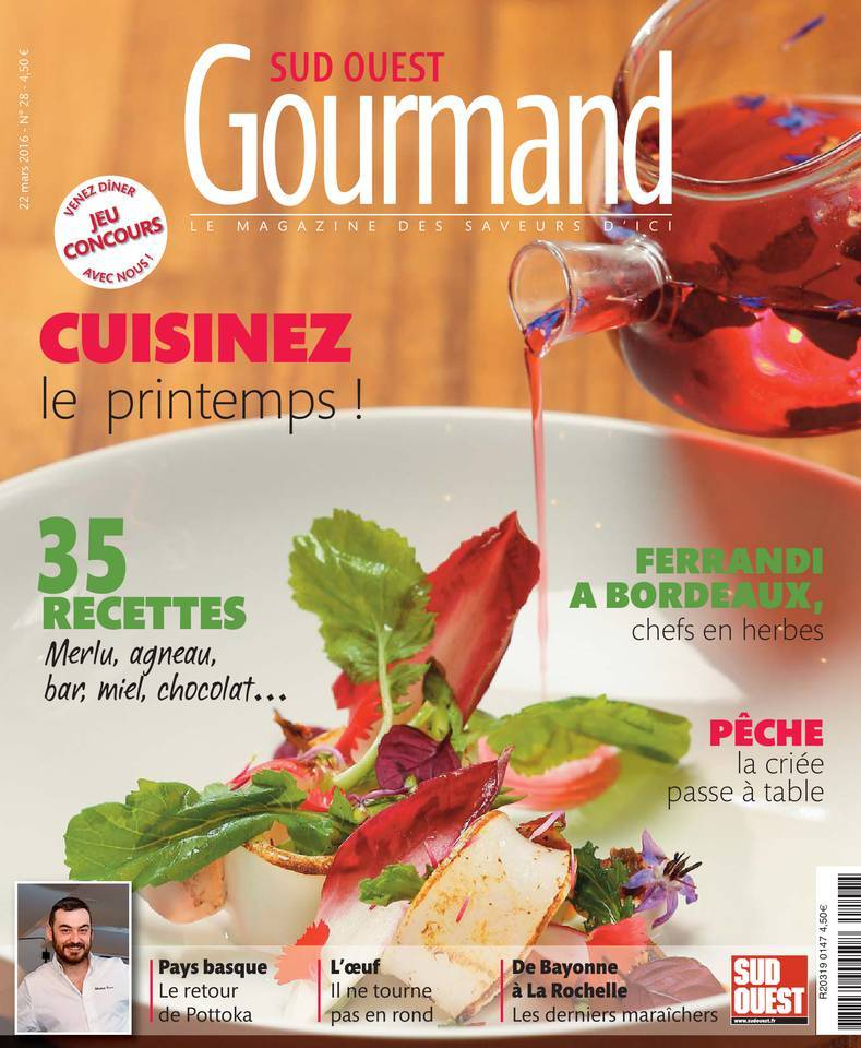 Sud Ouest Gourmand - Mars 2016