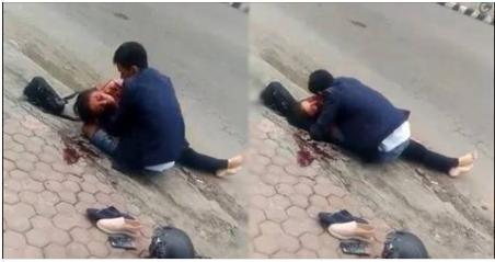 Ngày Vía Thần Tài: Cô gái bị xe tải NGHIỀN NÁT tại chỗ, bạn trai ôm xác ƯỚT SŨNG MÁU, chết không nhắm mắt!