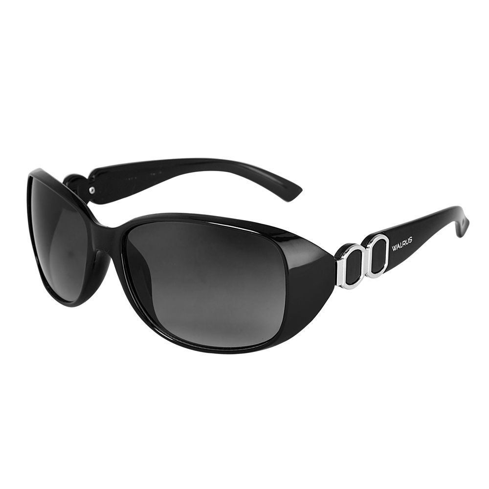 Walrus Victoria Black Color Women Wayfarer Sunglass - WS-VCT-020202
