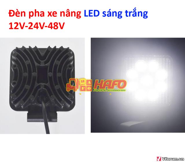 Đèn  cảnh báo 48V-12V-24V, Đèn cảnh báo xe nâng, Đèn pha xe nâng 48V - 2