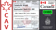 DH8B Certified