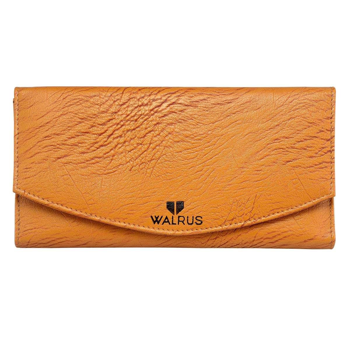 Walrus Chloe Tan Color Women Hand Clutch