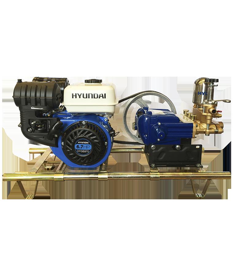 Fumigadora Parihuela Motor 6.7hp Pistones Ceramicos Hyd3367h