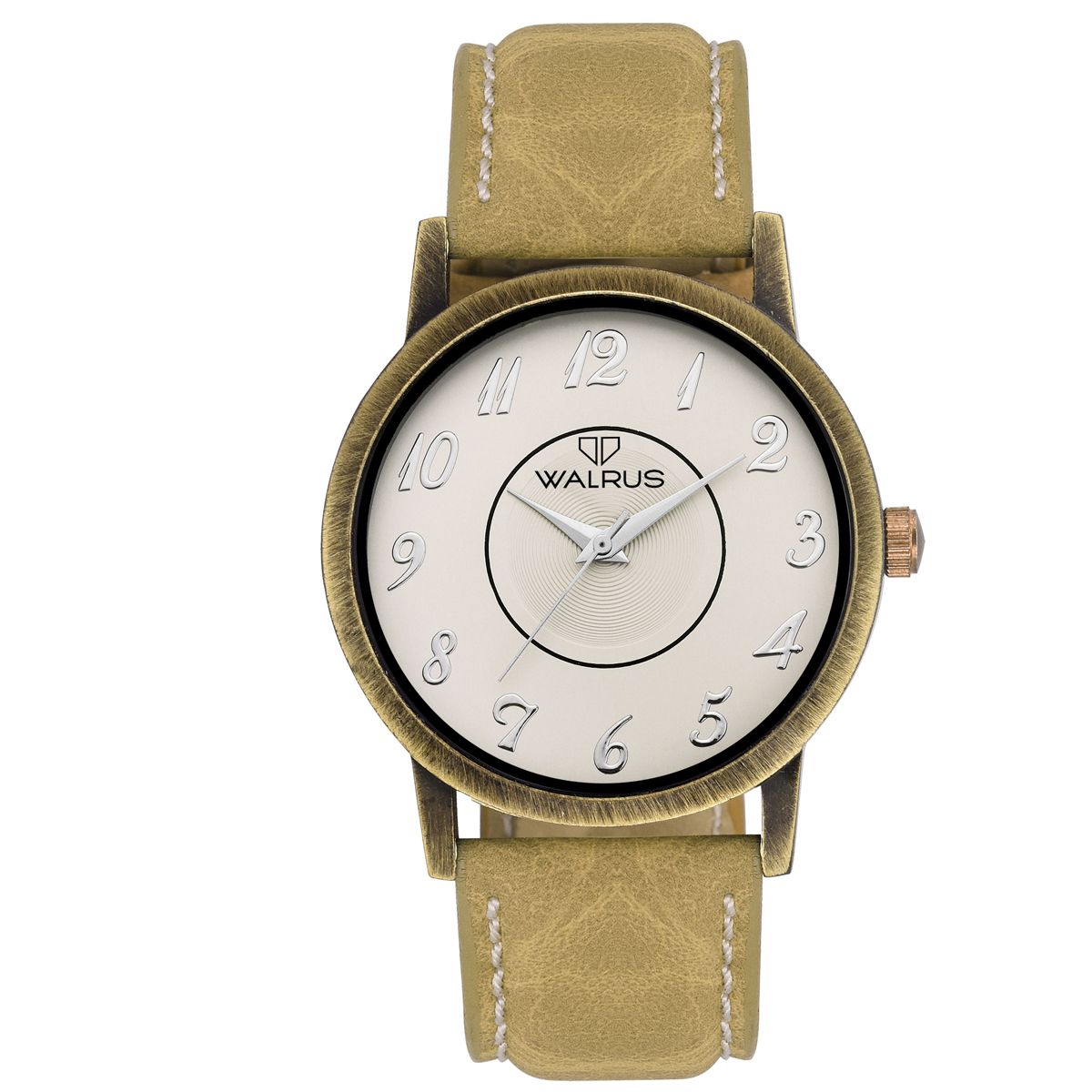 Walrus Lucas White Color Analog Men Watch -WWM-LCS-011631