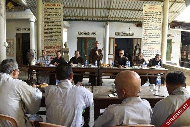 Nam Đông: BTS GHPGVN huyện Nam Đông họp triển khai công tác tổ chức Đại lễ Phật đản PL. 2562