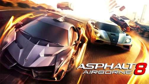 Asphalt 8: Airborne v2.7.1a Hile MOD APK indir