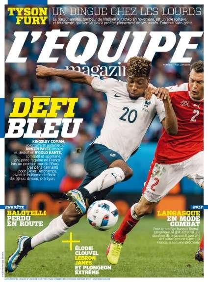 L'Equipe Magazine - 25 Juin 2016