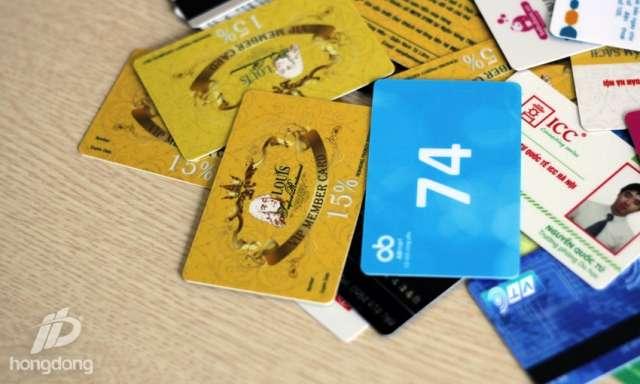 In thẻ VIP giá rẻ ở đâu tại Hà Nội