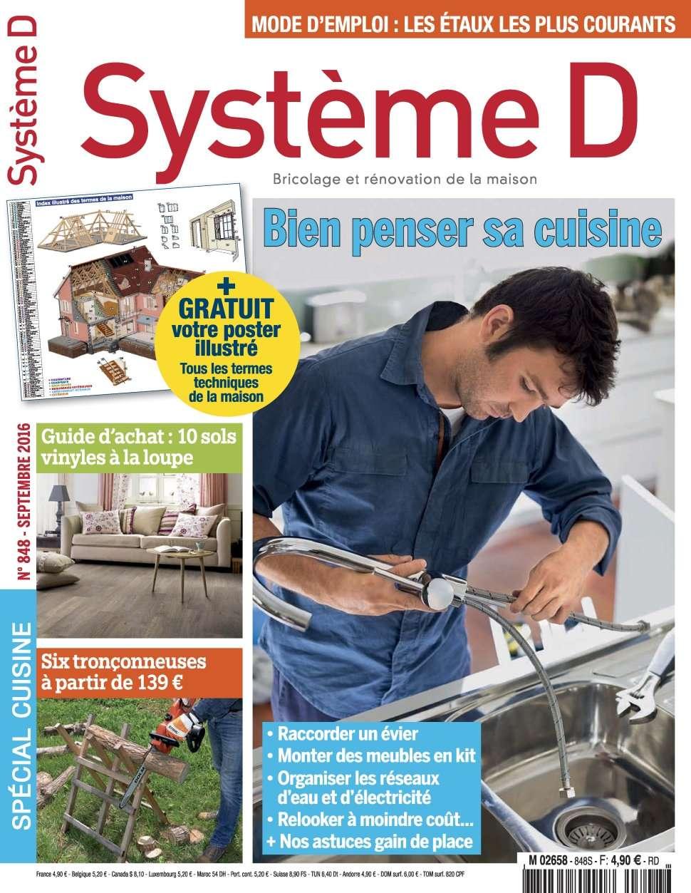 Système D 848 - Septembre 2016