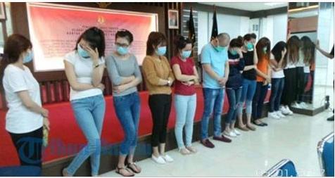 Đài Loan: 12 Nữ Lao Động Việt Bị Bắt