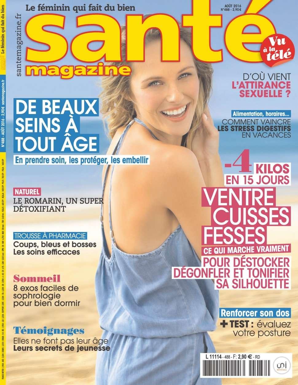 Santé Magazine 488 - Aout 2016
