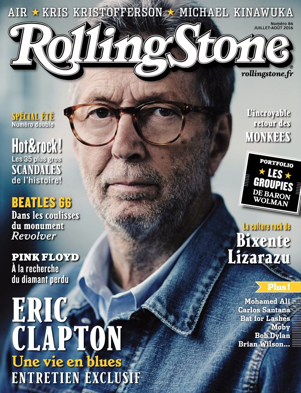 Rolling Stone 86 - Juillet/Aout 2016