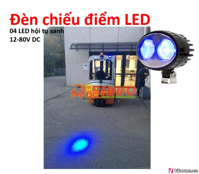 Đèn  cảnh báo 48V-12V-24V, Đèn cảnh báo xe nâng, Đèn pha xe nâng 48V - 9