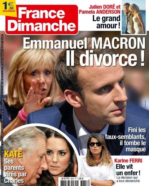France Dimanche - 02 au 08 Septembre 2016