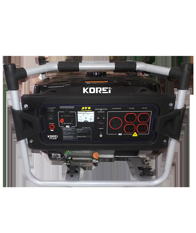 Generador a Gasolina 4 Tiempos Monofásico 3250W
