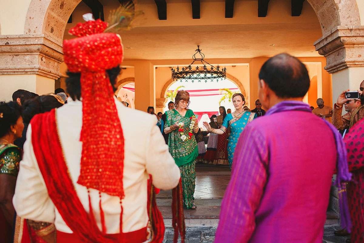 Gujarati Hindu wedding at sheraton mexico