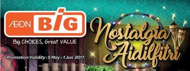 Aeon Big Catalogue (5 May - 1 June 2017)