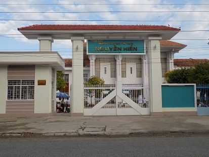 Trường Nguyễn Hiền - điểm tổ chức chương trình của HEAD Angimex