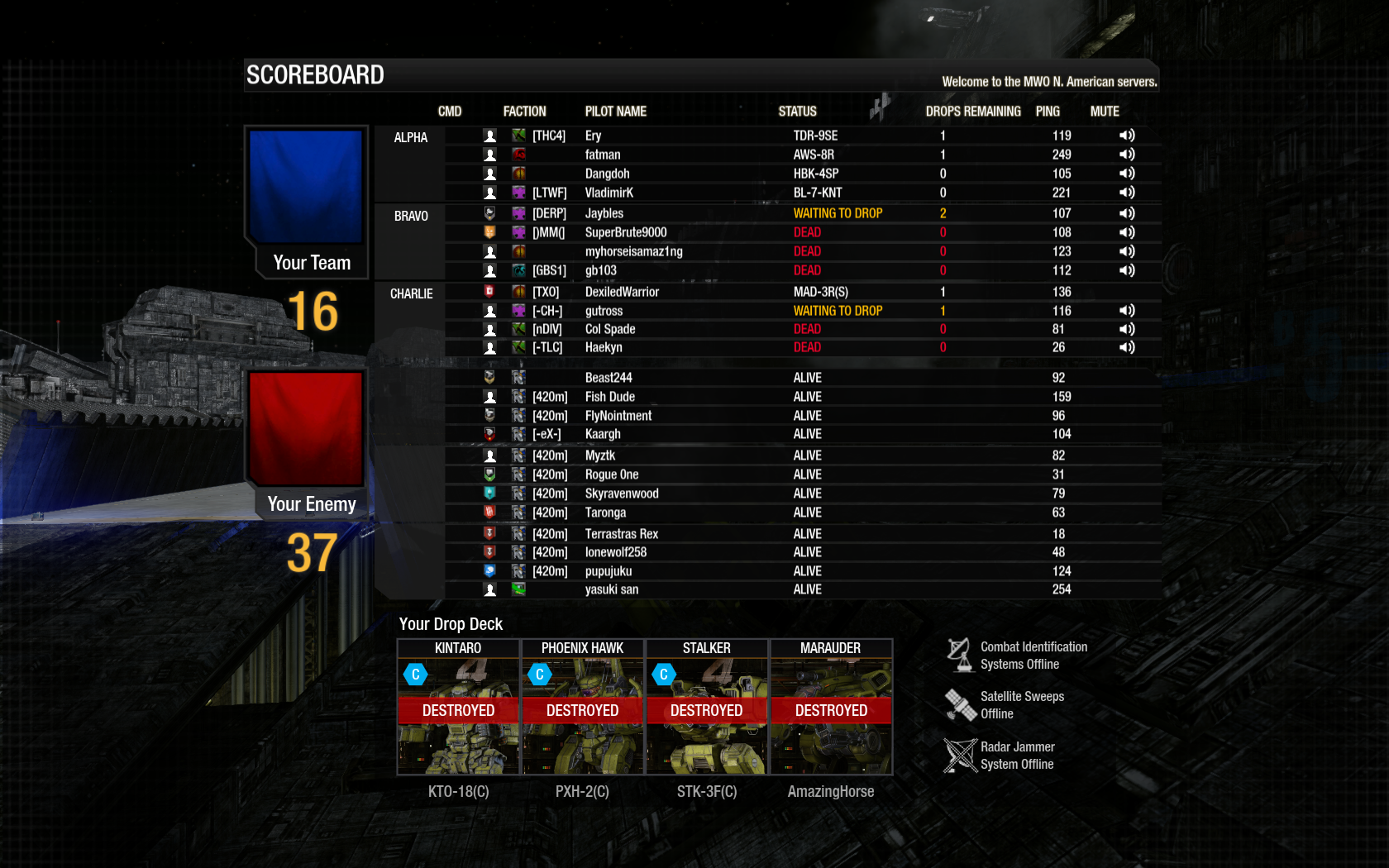 mwo cw matchmaking In cw you can build a  but the matchmaking just means everything is an  thats honestly the only real draw for me in cw, since i'm not really invested in the mwo .