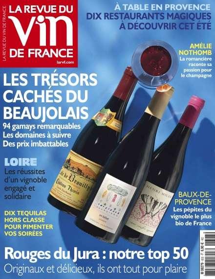La Revue du Vin de France -Juillet/Août 2016