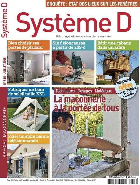 Système D 846 - Juillet 2016