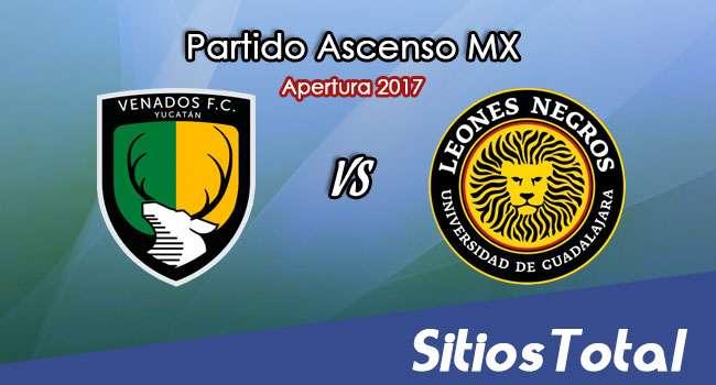 Venados FC vs Leones Negros en Vivo – Online, Por TV, Radio en Linea, MxM – Apertura 2017 – Ascenso MX