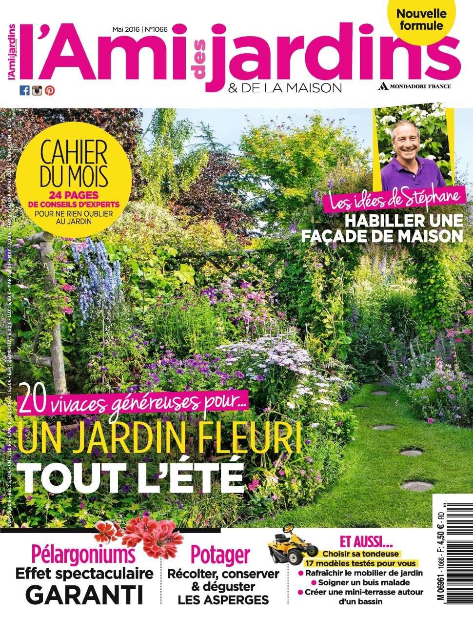 L'Ami des Jardins 1066 - Mai 2016