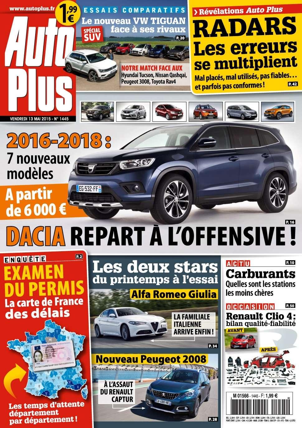 Auto Plus 1445 - 13 au 19 Mai 2016