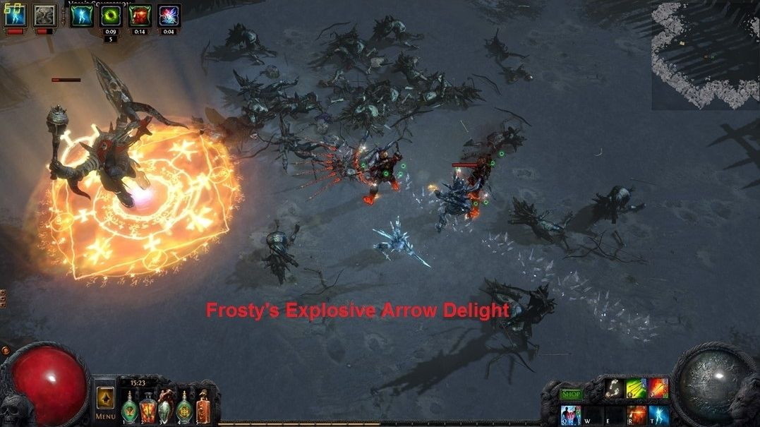 Fast Leveling Fast Clearing Build Poe