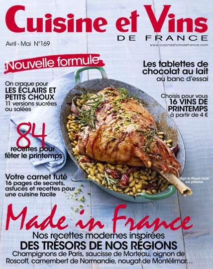Cuisine et Vins de France - Avril/Mai 2016